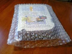 Упаковочные пакеты из воздушно-пузырчатой пленки