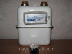 Counter of gas of Samgaz G4 RS/2001-22 (3/4)+ gift