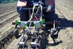 Dnepryank's seeder on 2 sowing units to a
