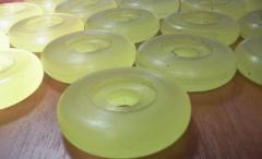 Plugs, rings polyurethane