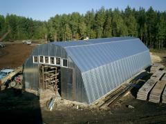 Будівництво овочехранилищ