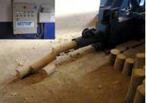 "Press briquette hydraulic ""NBV-150"