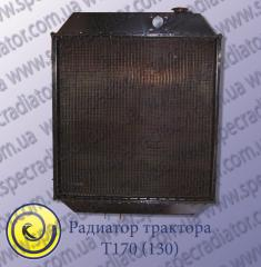 Radiator of engine cooling of T-130(T-170)