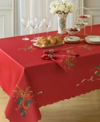 The textiles are table