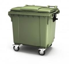 Mobile waste container 1100 liters
