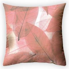 Design throw pillow of the World, art.