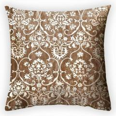Design throw pillow of the Seraph, art.
