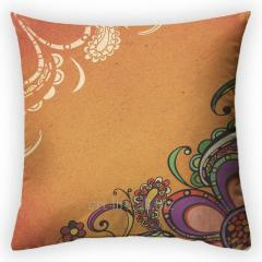 Design throw pillow Sand smooth surface, art.