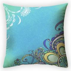 Design throw pillow Sea breeze, art.