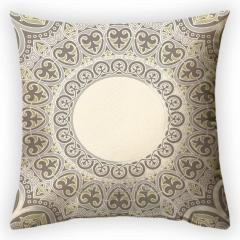 Design throw pillow Sand image, art.