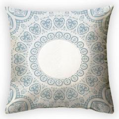 Design throw pillow Heavenly light, art.