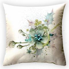 Design Theatre of Flowers throw pillow, art.