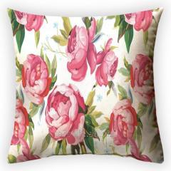 Design throw pillow Pionovy paradise 1, art.