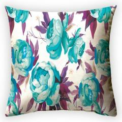 Design throw pillow Pionovy paradise 2, art.
