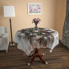 Design cloth from gabardine a dandelion Kiss, an