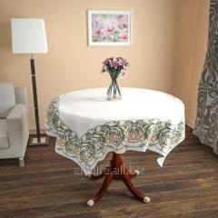 Design cloth from gabardine Flower weaving, an