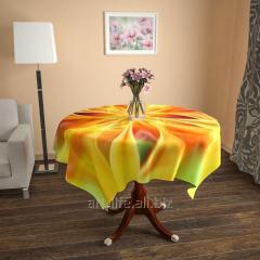 Design cloth from gabardine the Solar flower, an