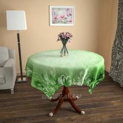 Design cloth from gabardine the Olive, an art.