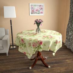 Design cloth from gabardine the Spring garden, an