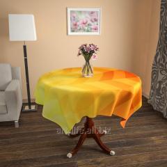 Design cloth from gabardine the Solar rainbow, an