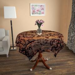 Design cloth from gabardine the Flower trace, an