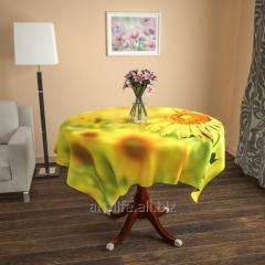 Design cloth from gabardine Colour of the sun, an