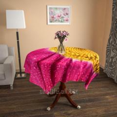 Design cloth from gabardine Petals, an art.