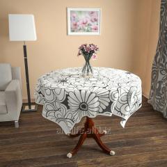 Design cloth from gabardine the Flower image, an