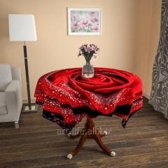 Design cloth from gabardine the Royal rose, an