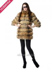 Short fur coat from a raccoon of A2
