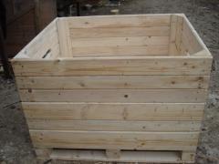 Контейнеры деревяные  для яблок