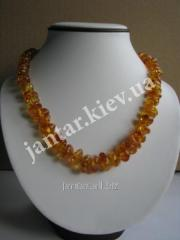 Beads from a natural stone the Code-02