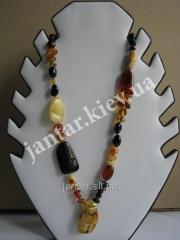 Beads from a natural stone the Code-04