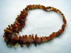 Beads from natural Code-01 amber