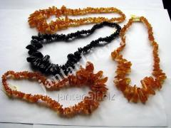 Beads from natural Code-02 amber