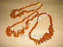 Beads from natural Code-03 amber