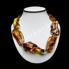 Large beads from Code-01 amber