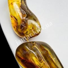 Large beads from Code-02 amber