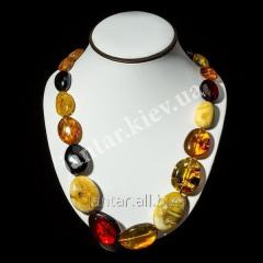 Large beads from Code-03 amber