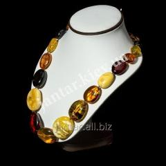 Large beads from Code-04 amber