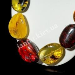 Large beads from Code-06 amber