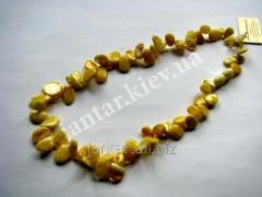 The polished beads from Code-147 amber