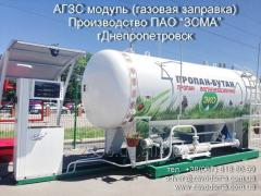 Gas refueling module AGZP, gas stations, modules