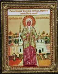 Ksenia Blazhennoy's icon (Cherkasy), a