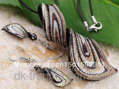 Earring set + Murano suspension bracke