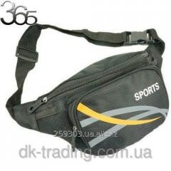 Man's Sports black bag