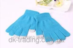 Gloves for touch Touch GLoves blue screens
