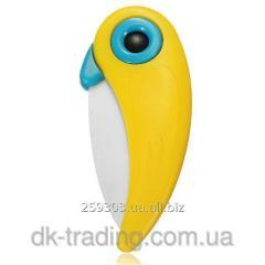 Нож керамический Parrot yellow