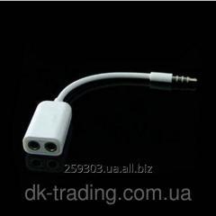 Audio double splitter splitter adapter 3.5 mm Jack