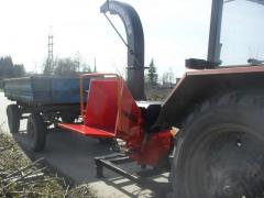 Деревоизмельчающая машина DP660T (дробилка